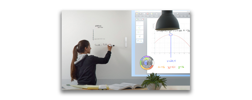 tableau blanc interactif mobile ebeam edge +